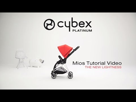 CYBEX stroller Mios - Tutorial video