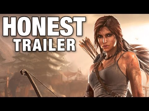 A Honest Video Game Trailer for the  Tomb Raider