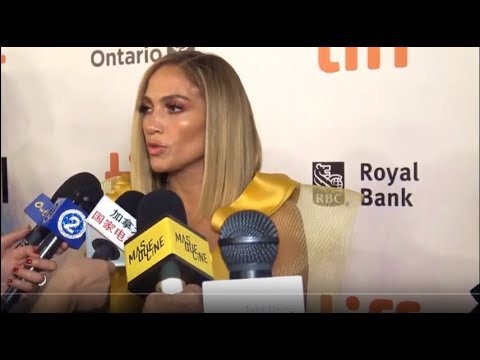 Jennifer Lopez and HUSTLERS 2019 Interview at Tiff