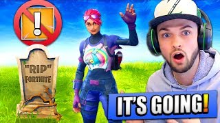 Epic Games are REMOVING this from Fortnite...!