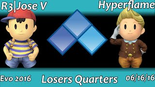 Hyperflame vs. Jose V @ Evo: Some of the best Project M I've seen in my life
