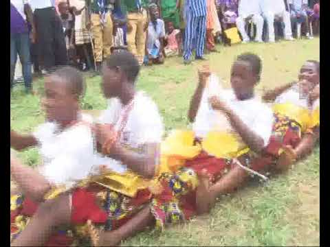 The Rich Cultural Dance Of The Urhobo People Displayed By Lovely Children In Sapele
