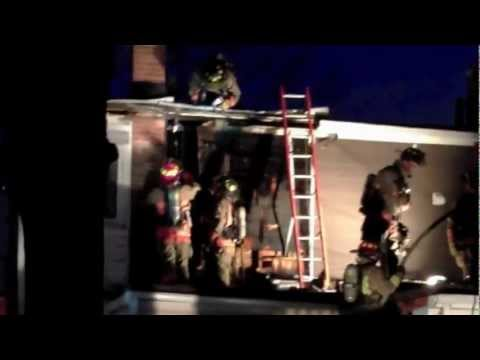 House Fire at Newmarket & Westlake (Jan 7, 2011)