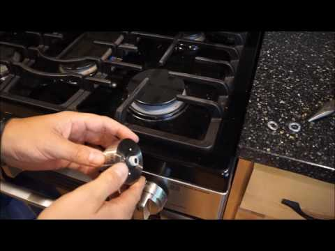 Easy DIY Repair - fixing broken knobs on LG kitchen stove and gas range