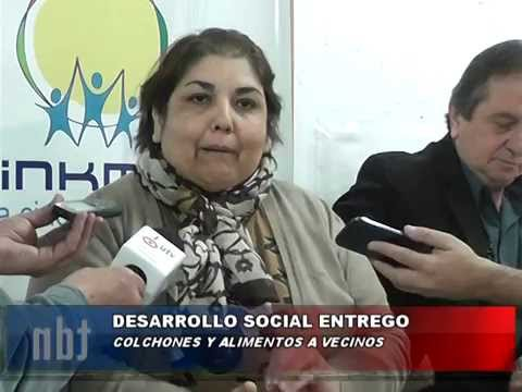 ENTREGA DE COLCHONES – Quinteros