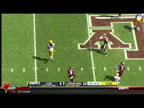Johnny Manziel vs LSU 2012 video.