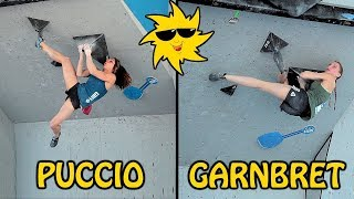 Only Janja Garnbret and Alex Puccio climbed this one | Sunday Sends by OnBouldering