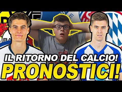 NON SVEJATEMEEEE!! TORNA il CALCIO!!! Ecco i PRONOSTICI della BUNDESLIGA!!! видео