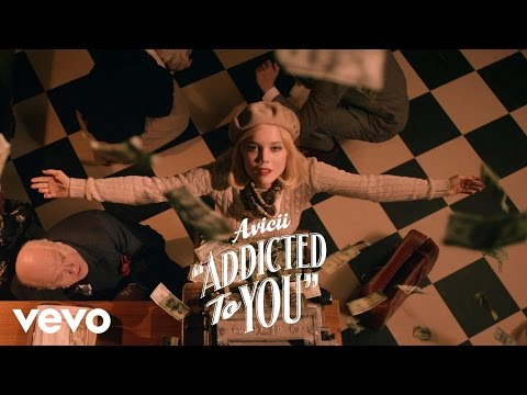 Avicii - Addicted To You  ft. Audra Mae  lyrics