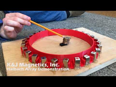 Magnetic Dipole Moment Using Halbach Arrays