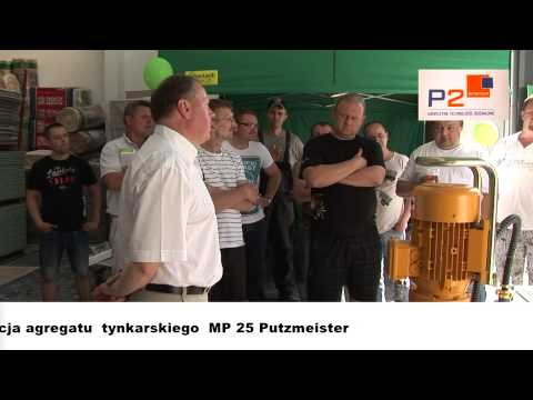 Putzmeister MP25 - http://www.p2system.pl/ http://www.warszawapsb.pl/ http://allegro.pl/sklep/23319484_ https://pl-pl.facebook.com/pages/P2system/430555877059926.