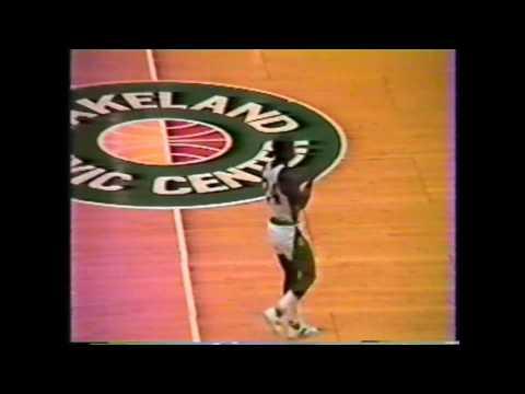 1982 PCHS vs Miami Jackson Semi Final State Basketball Tournament