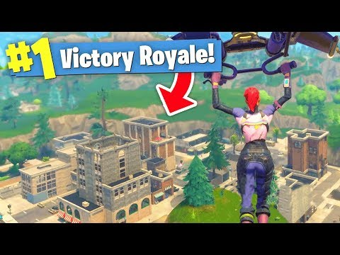 The BIGGEST UPDATE Ever! - NEW MAP Gameplay (Fortnite Battle Royale) (видео)