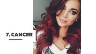The Absolute Perfect Hair Color for You Based on Star Sign ...