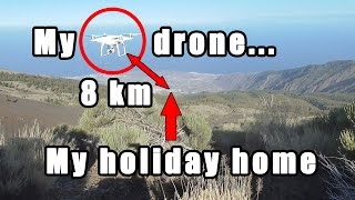 NEW!!! Phantom 4 Advanced: https://goo.gl/DsCPUO You can support this channel on Patreon: https://goo.gl/L8xyRY After my first ...