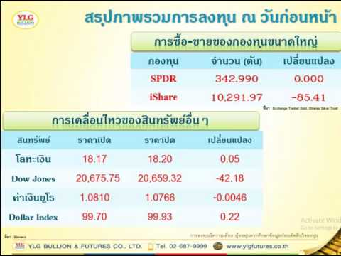 Morning Report Gold Investment 30-03-17