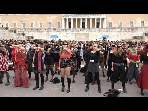 «Ο βιαστής είσαι εσύ» φωνάζουν γυναίκες στην Αθήνα