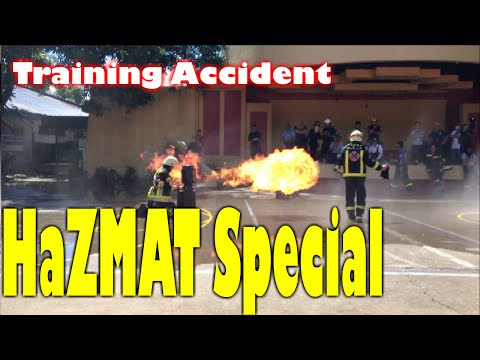 Hazmat Training Accident