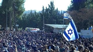 Givat Yoav Israel  city pictures gallery : Israel funeral for four Jews killed in France attack