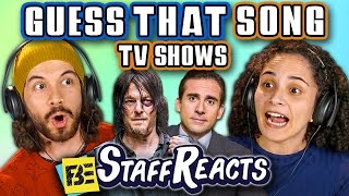 Video GUESS THAT SONG CHALLENGE: TV SHOWS! (ft. FBE STAFF) MP3, 3GP, MP4, WEBM, AVI, FLV Agustus 2019
