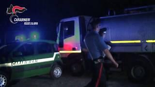 Interrano rifiuti pericolosi nei pressi dell'aeroporto di Reggio Calabria: Carabinieri forestali arrestano 4 persone