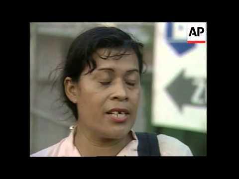 NICARAGUA: MANAGUA: WORK CONDITIONS ARE UNACEPTABLE