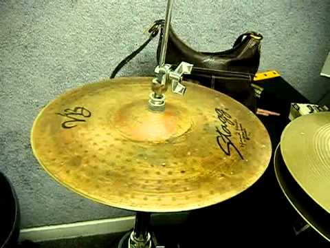 Stagg 13″ Vintage Bronze Medium Hi-Hats
