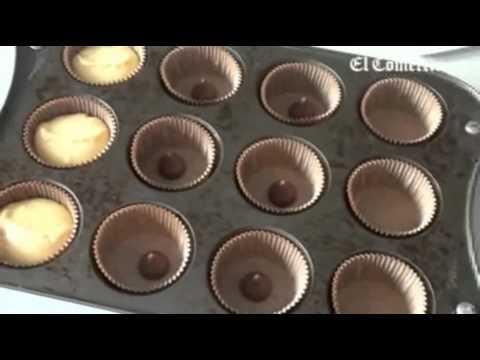 Como se hace o prepara Cup cakes.mp4