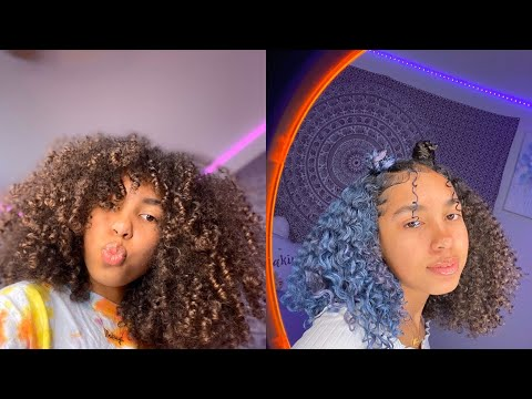 Makiya's Natural Curly Hair Tutorials Compilation
