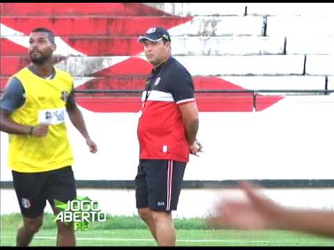 [JOGO ABERTO PE] Santa Cruz se prepara para o jogo contra o Salgueiro e conta com a volta de Pipico