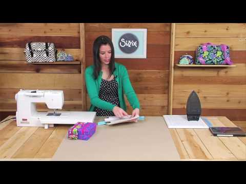 Sizzix Quilting: Box Pouches with Sew Sweetness