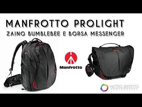 Manfrotto Pro Light - Zaino Bumblebee e Borsa Messenger