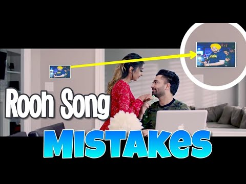 12 MISTAKES IN ROOH SONG BY SHARRY MANN | SHARRY MANN NEW PUNJABI SONG ROOH