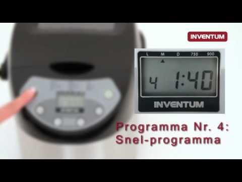 Inventum broodmachine