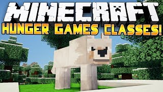 BEAST MASTER! - Minecraft: Hunger Games CLASSES! w/Preston&Woofless!