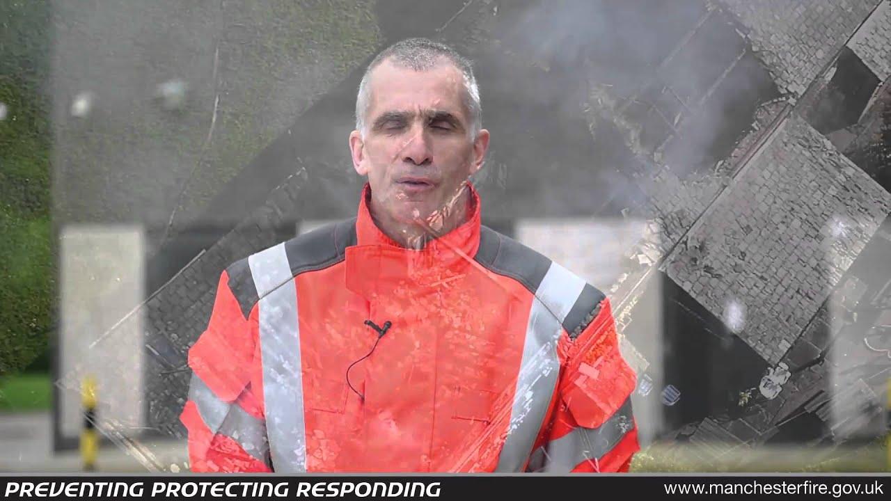 Пожарная служба Манчестера использует дронов с инфракрасной камерой