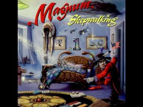 "MAGNUM - ALBUM - "" SLEEPWALKING "" (1992)"