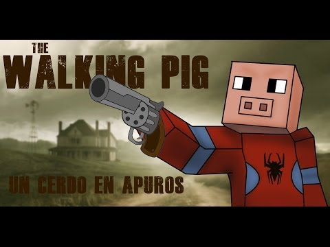 THE WALKING PIG |  MINECRAFT | UN CERDO EN APUROS