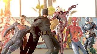 Download Lagu MARVEL vs. DC | EPIC DANCE BATTLES! ( THE AVENGERS vs. JUSTICE LEAGUE ) Mp3