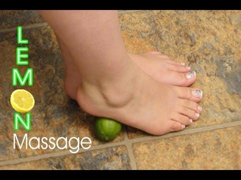 Masajes para los pies con limón ♥ Lemon foot massage