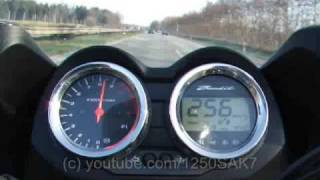 8. Suzuki Bandit 1250 SR Racing - top speed (part 2)