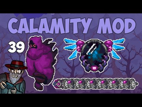 Terraria # 39 THREE NEW BOSSES!  - 1.3.4 Calamity Mod Let's Play (видео)