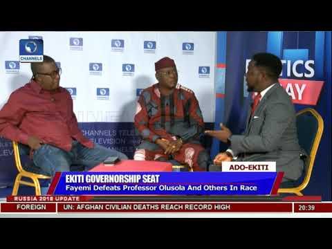 Adeyeye, Oguntuase Disagree Over Conduct Of Governorship Election |Politics Today|