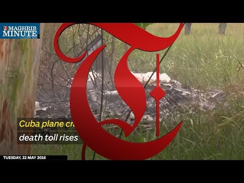 Cuba plane crash death toll rises