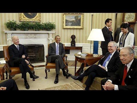 ΗΠΑ: Συνάντηση Ομπάμα -Ρεπουμπλικάνων για τον διορισμό ανώτατου δικαστή
