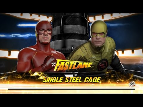 WWE 2K16 EP.6 : FLASH VS REVERSE FLASH EPIC DC BATTLE