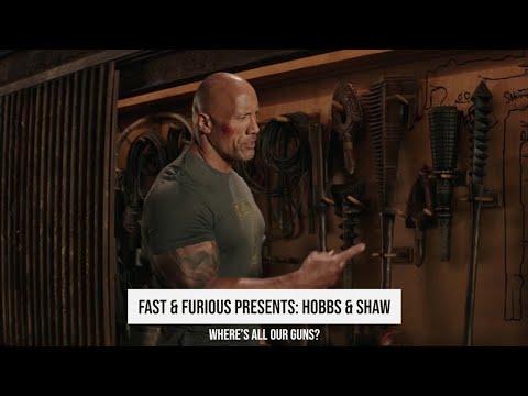 Where's All Our Guns? | Fast & Furious Presents: Hobbs & Shaw (2019)