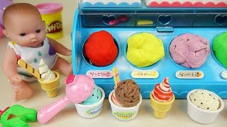 Video Baby Doll Ice cream shop and Play Doh ice cream toys MP3, 3GP, MP4, WEBM, AVI, FLV Oktober 2017