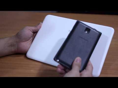 Samsung Galaxy Tab 4 10.1 inch (T531) -- Unboxing