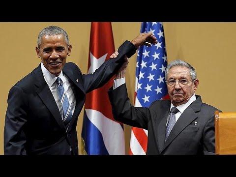 Ομπάμα – Κάστρο: Δίνουμε έμφαση σε ό,τι μας ενώνει